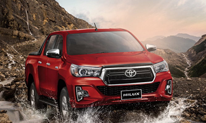 Toyota Hilux 2.8G AT 2019